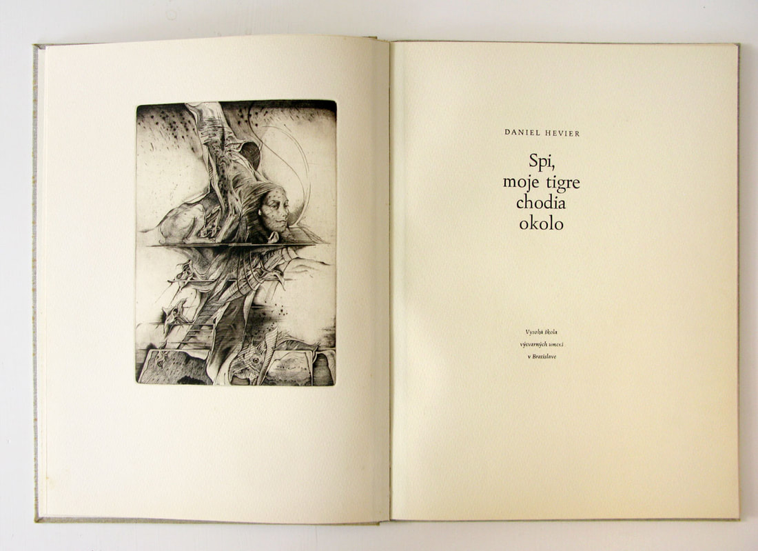 Karol FELIX rare handmade book with etchings